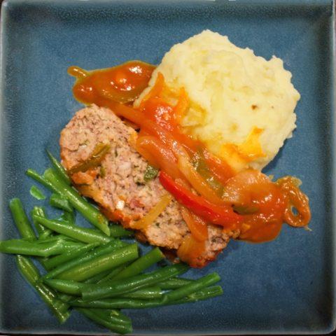 Mediterranean-style Meatloaf