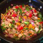 thai stir-fry basil peanuts