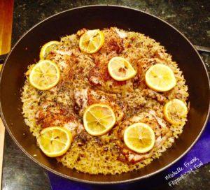 One-pan Meyer Lemon Chicken