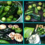 fresh green salsa