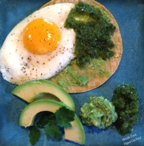 Huevos Rancheros Salsa Verde