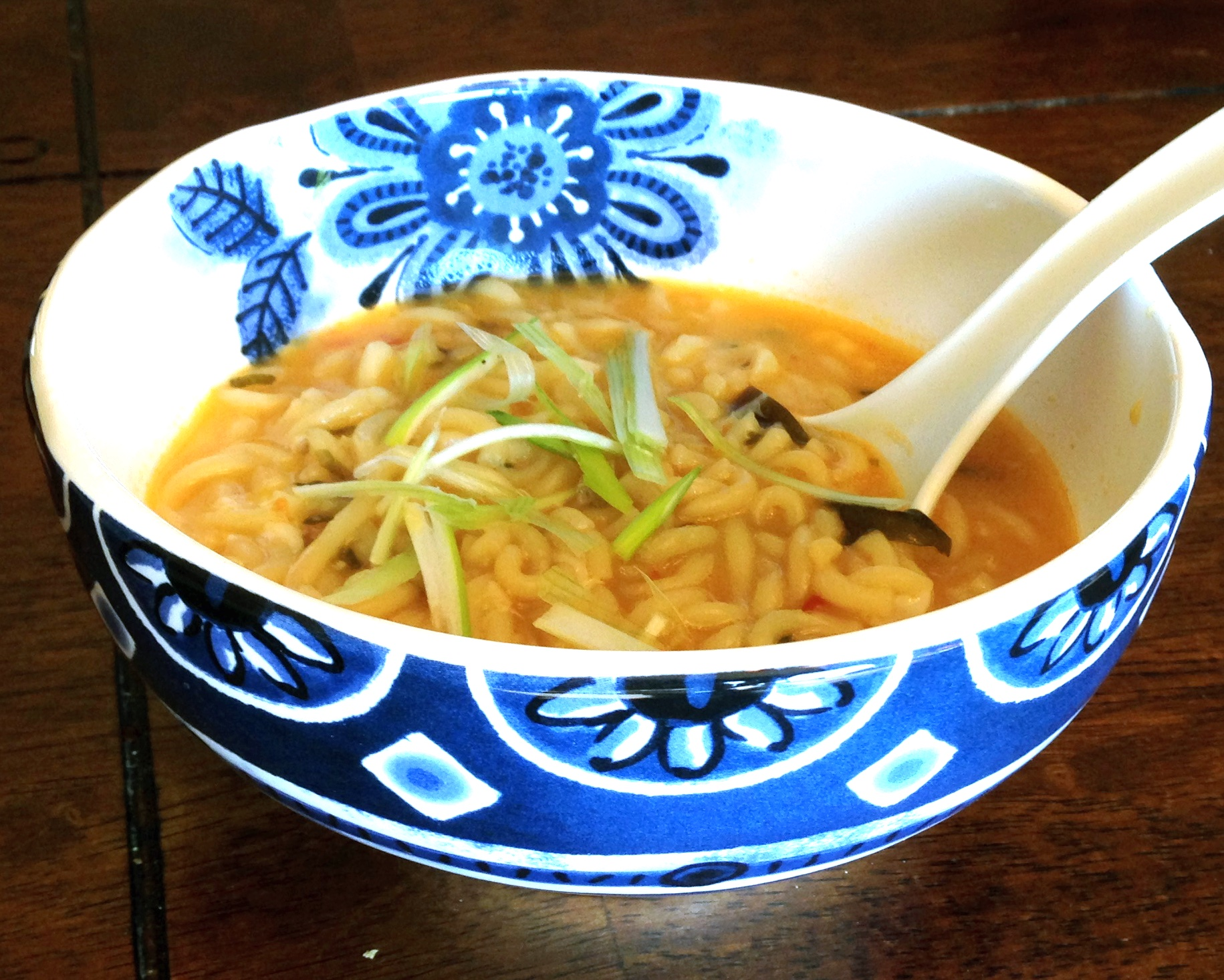 Spicy Beef and Ramen Noodle Soup Recipe | SparkRecipes  |Ramen Noodle Broth