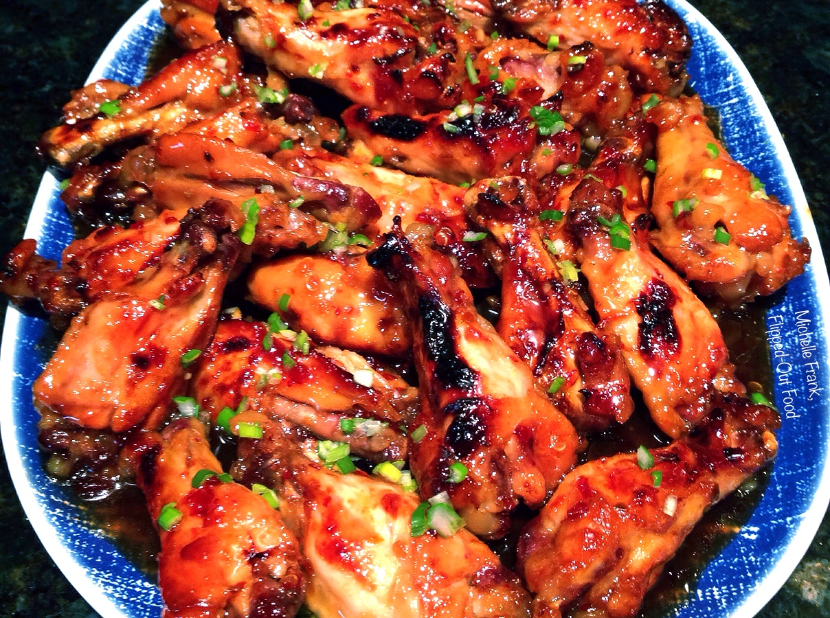 crockpot sticky chicken wings