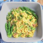 Asparagus Orzotto serving