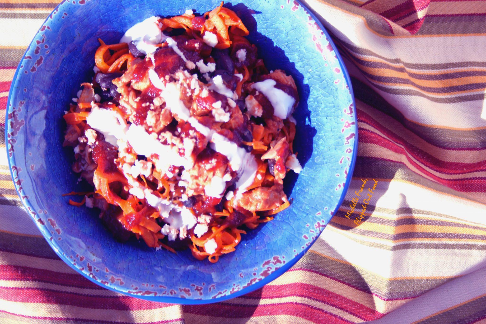 enchilada bowls chicken