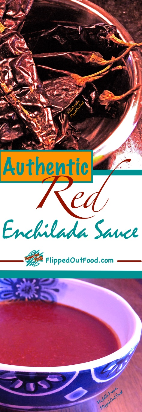 Red enchilada sauce made with rehydrated guajillo chiles, beef broth, & charred vegetables. Ideal for carne adobada, chilaquiles, & more!