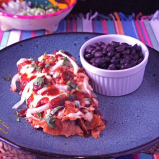 Red Enchiladas or Chilaquiles