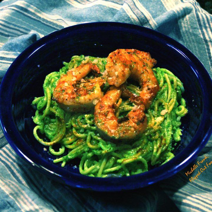 arugula-spinach-pesto
