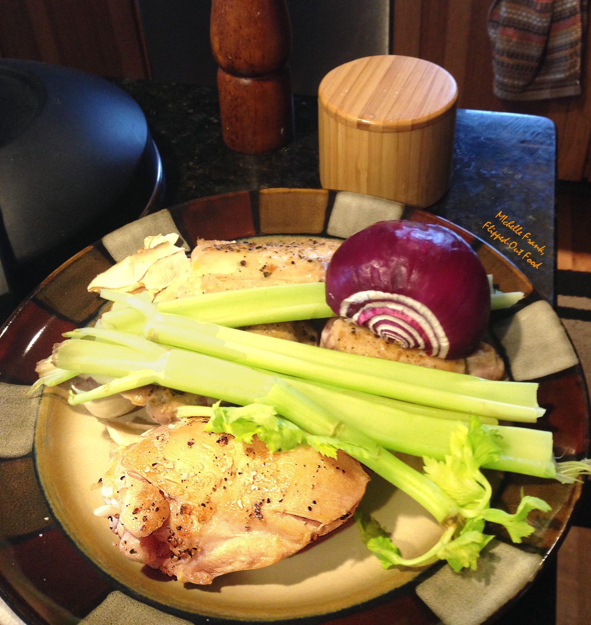 pressure-cooker chicken stock ingredients