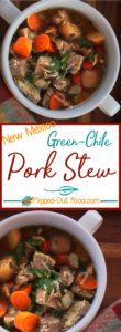Green Chile Pork Stew pin