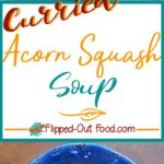 Curried Acorn Squash Soup pin