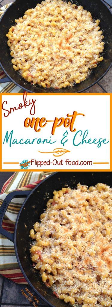 smoky one-pot macaroni & cheese pin