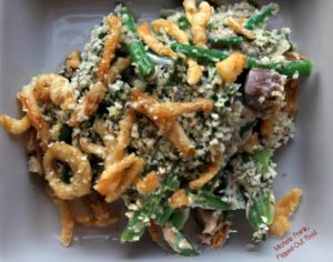 make-ahead green bean casserole serving