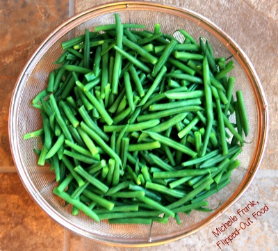 haricots verts for make-ahead green bean casserole