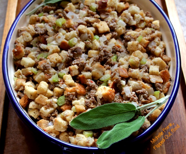 Easy Sausage Stuffing for Turkey, Chicken, Duck, or Other Fowl