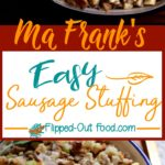 easy sausage stuffing pin