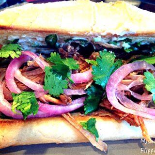 Crockpot Bánh Mi Sandwiches