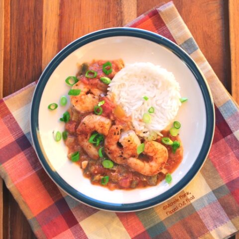 Make Ahead Creole Style Shrimp Etouffee Flipped Out Food