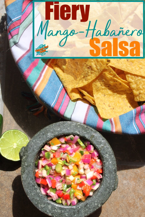 Vibrant, Fiery Mango-Habanero Salsa is perfect served with tortilla chips or as a garnish for fish and meats. Using flash-frozen mango chunks not only simplifies the prep, but it also means that you can enjoy this salsa any time of year!