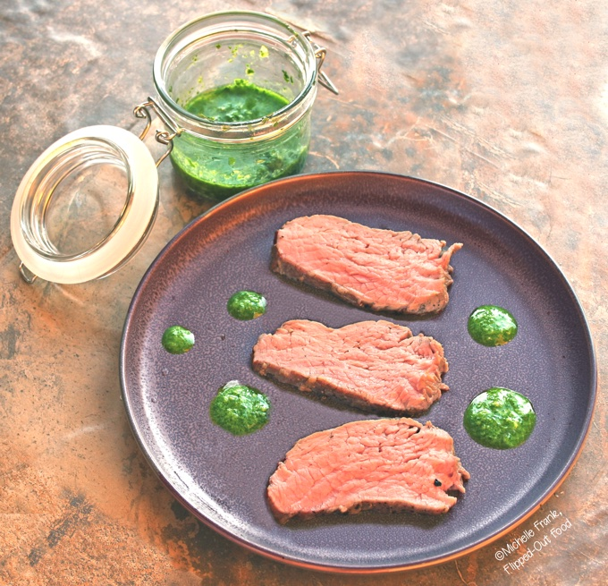 Grilled Tri-Tip Steak with Chimichurri Sauce is a delicious pairing that is typical of Argentina and Brazil. The steak is flavorful and juicy—and perfectly accented by the tangy, fresh chimichurri sauce. #tritip #tritipsteak #chimichurrisauce #argentinianfood #grilledmeat #flippedoutfood #cookoutfood #brazilianfood #parillada #healthyfood via @FlippedOutFood
