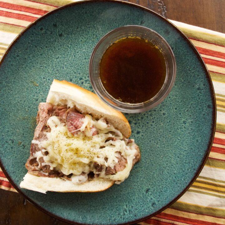 Open-Faced Prime Rib Sandwiches