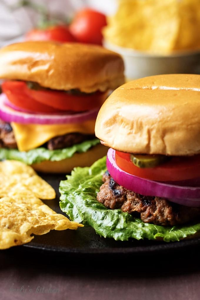 Easy Homemade Hamburgers, from Berly's Kitchen