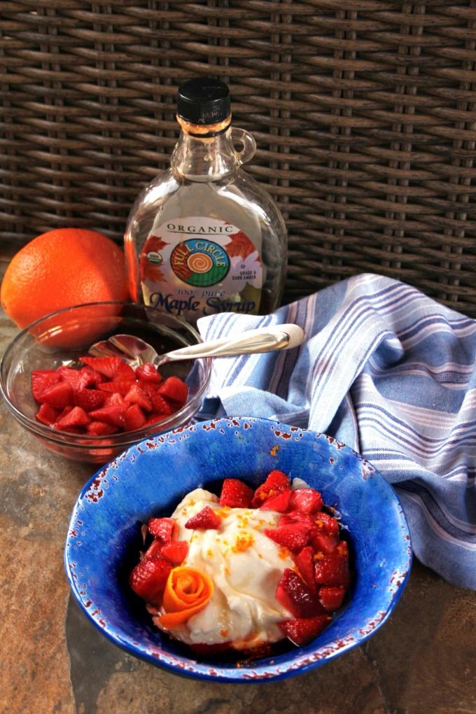 Virtual Memorial Day Potluck Recipe Roundup: Maple Orange Strawberry Yogurt Bowls, Flipped-Out Food