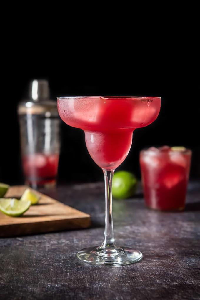 Pomegranate Margarita, from Dishes Delish