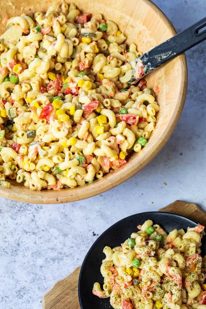 Vegan Macaroni Pasta Salad, by VeEatCookBake
