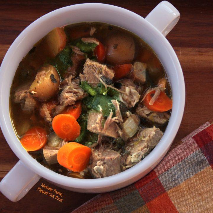 Caldillo: Green Chile Pork Stew
