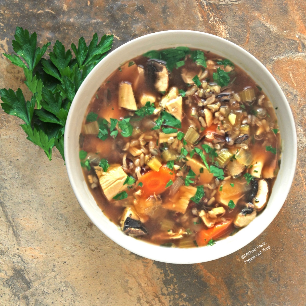 Easy Soups for Fall: Turkey Wild Rice Soup
